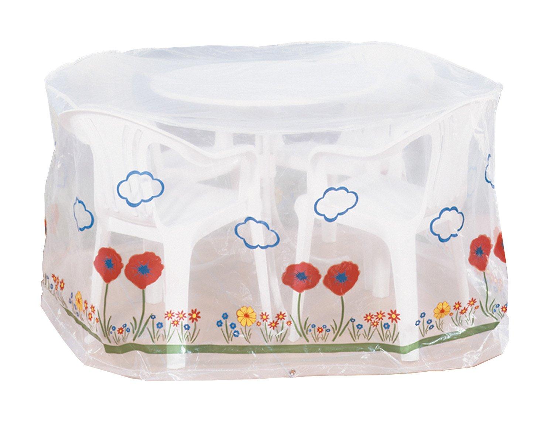 Wenko 5827111100 Schutzhülle Wiese für Sitzgruppe – Kunststoff, Ø 160 x 80 cm, transparent jetzt bestellen