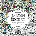 Jardin secret, carnet de coloriage et chasse au tr�sor anti stress