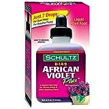Schultz African Violet Plus Plant Food 8-14-9, 4 fl oz. 1061 (Tamaño: 1)