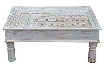 Indien typique table basse sa coffeetable huebsche rajasthan
