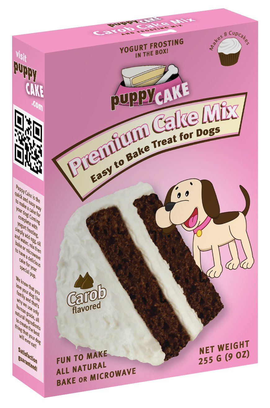 Dog Carob Cake Mix and Frosting