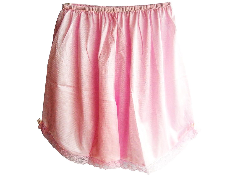 Damen Nylon Halb Slips Neu UPPNAPK PINK Half Slips Women Pettipants Lace günstig online kaufen
