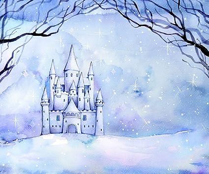 Castle Photography Backdrop Frozen Castle Photography