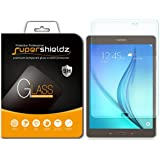 [2-Pack] Supershieldz for Samsung Galaxy Tab A 8.0 (SM-T350) Screen Protector, [Tempered Glass] Anti-Scratch, Anti-Fingerprint, Bubble Free, Lifetime Replacement Warranty