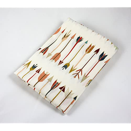 Fitted Crib Sheet Arrows Pattern by Art Gallery Fabrics