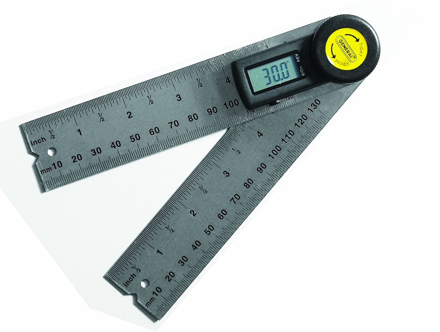 General Tools 822 5 inch Digital Angle Finder Rule compass ...