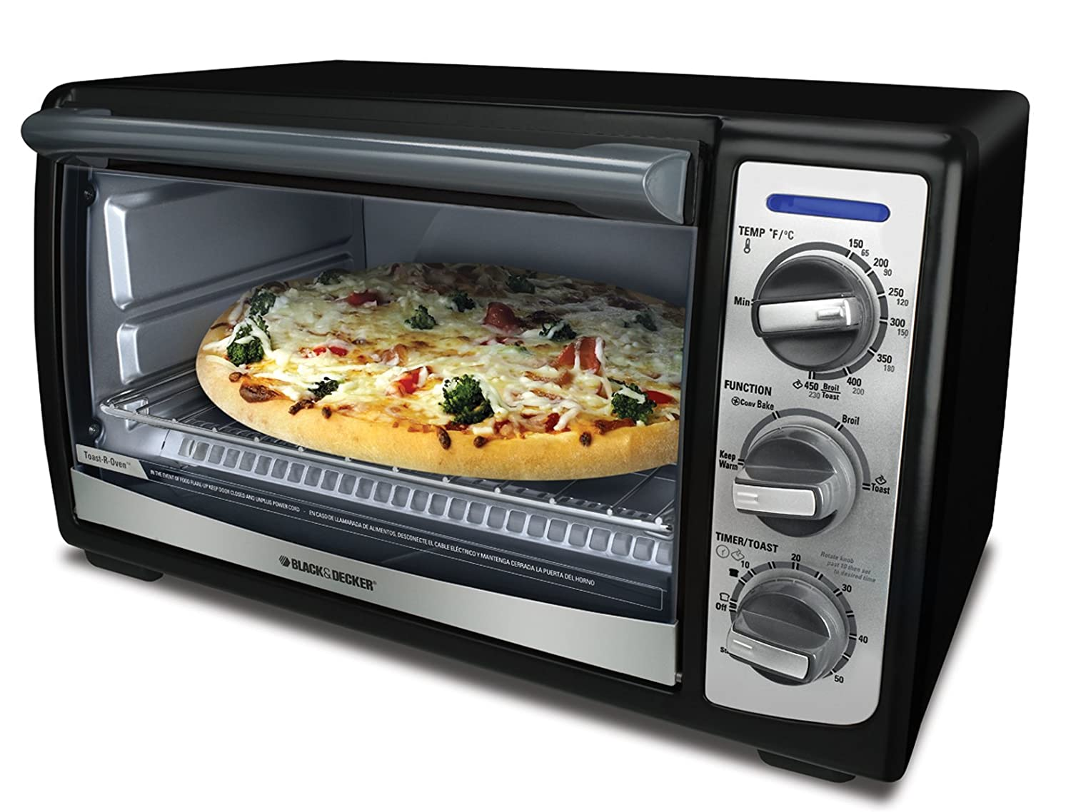 Countertop Oven Baking : ... Kitchen Countertop Convection Toaster Oven - Toast, Bake, Broil & Warm