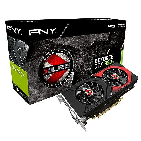 PNY KF960GTXXG4GEPB Carte graphique Nvidia GeForce GTX960 4GB XLR8 OC GAMING PCI Express