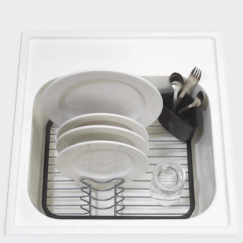 Wire dish drip dry rack sink grid utensil drainer movable - Escurreplatos plastico ...