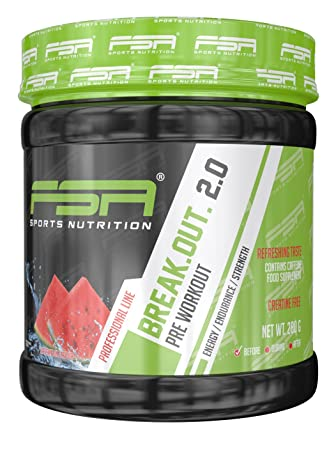 FSA Sports Nutrition Break Out 2.0 - 280g Dose - Waterlemon