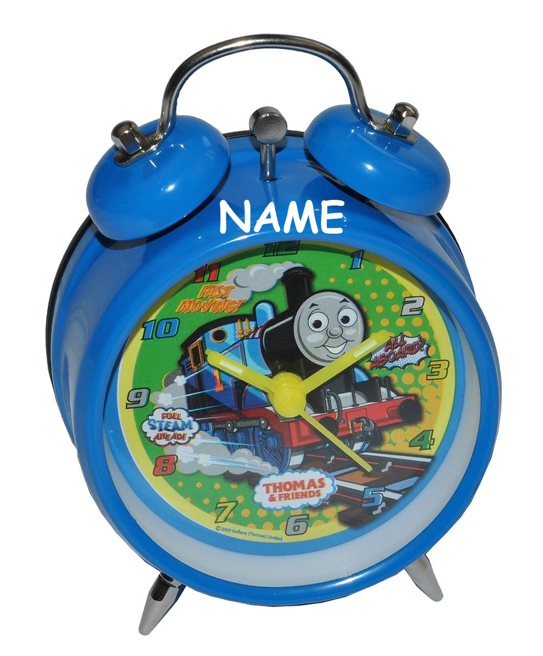 Wecker Thomas die Lokomotive incl. Namen – für Kinder Metall Kinderwecker Analog – Alarm Kinderwecker Metallwecker – Eisenbahn Lok Zug Züge kaufen