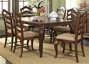 Dining Table with 4 Upholstered Chairs