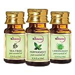 StBotanica St.Botanica Lemongrass + Peppermint + Tea Tree Pure Essential Oils