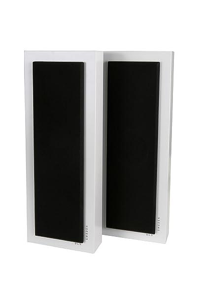 DLS Flatbox Midi-v2 Paire d'Enceintes 2 voies Blanc