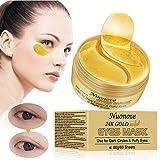 Under Eye Mask, Under Eye Patches, Collagen Eye Mask, Anti Aging Eye Mask, Eye Treatment Mask for Puffy Eyes, Dark Circles, Anti-Wrinkle, 60 Sheets