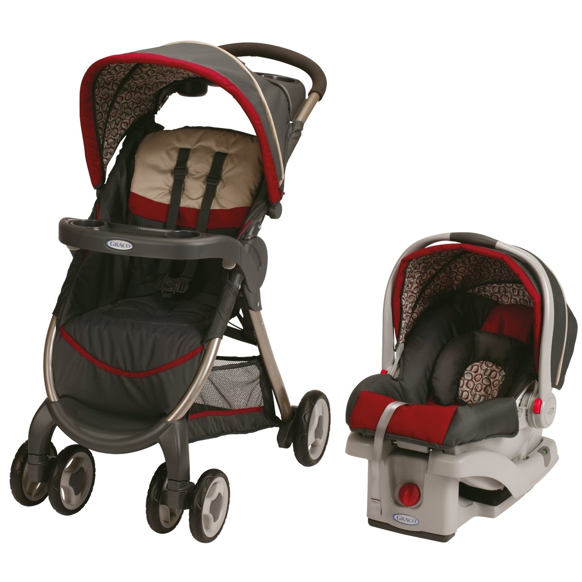 Graco Childrens Products Graco FastAction Fold Click Connect Travel System/Click Connect 30, Finley at Sears.com