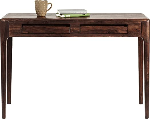 Kare 81260 Brooklyn Walnut Laptop Scrivania, Altro, Marrone, 40 x 110 x 76 cm