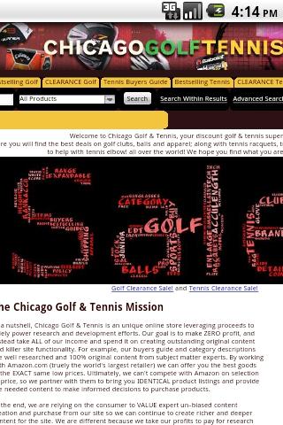 Chicago Golf Tennis Warehouse