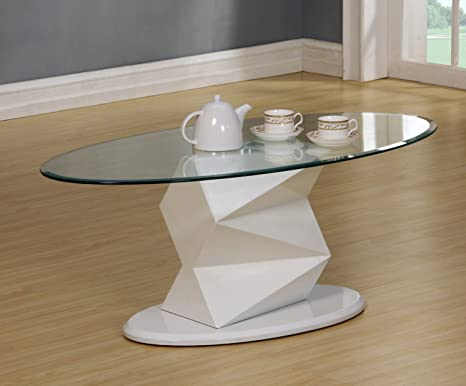 Rowley High Gloss White Coffee Table