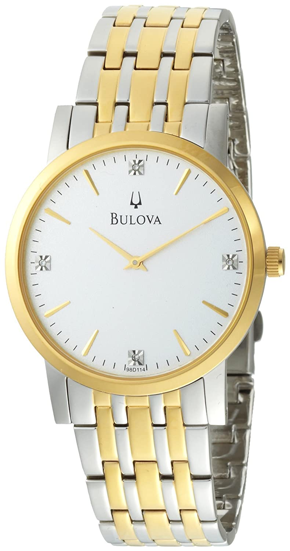 Đồng hồ nam Bulova Mens 98D114 Diamond Dial Watch