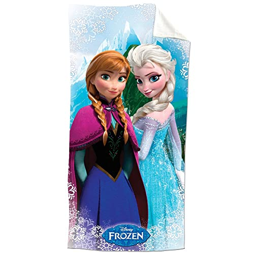 Disney Frozen Snowflake 100% Cotton Beach Towel