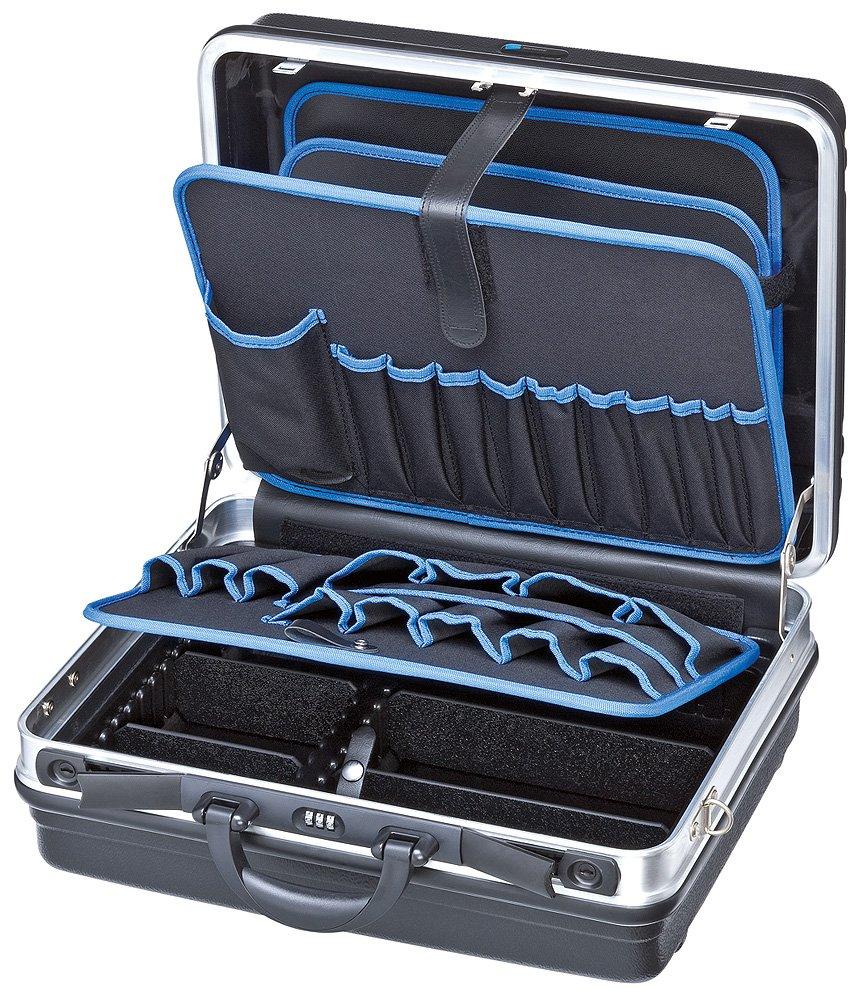 Knipex 00 21 05 LE Werkzeugkoffer Basic leer, Belastbar bis 15 Kg, Maße Innen 440 x 180 x 350 mm  BaumarktÜberprüfung und weitere Informationen