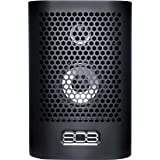 808 Audio HEX TL Rechargeable Portable Speaker with Bluetooth - Black