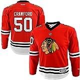 Corey Crawford Chicago Blackhawks NHL Reebok Infant Red Replica Hockey Jersey (Size 12M-24M)