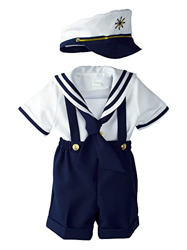 Toddler Boys Designer Sailor Themed Clothes Baby Toddler Boys Nautical