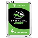 Seagate BarraCuda Internal Hard Drive 4TB SATA 6Gb/s 256MB Cache 3.5-Inch - Frustration Free Packaging (ST4000DMZ04) (Tamaño: 4TB)