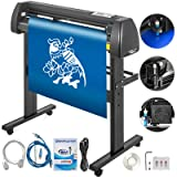 VEVOR Vinyl Cutter 34 Inch Plotter Machine 870mm Paper Feed Vinyl Cutter Plotter Signmaster Software Sign Making Machine with Stand (34Inch Style 2) (Color: Style 2, Tamaño: 34Inch)