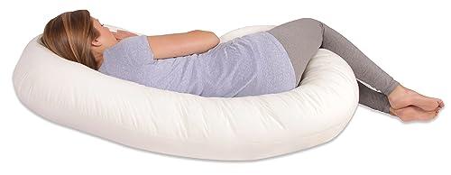 Leachco Snoogle Total Body Pillow, White