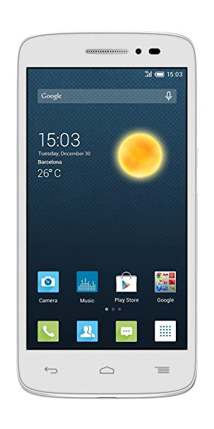 Alcatel ONE Touch 5042D POP 2 Smartphone Compact Blanc