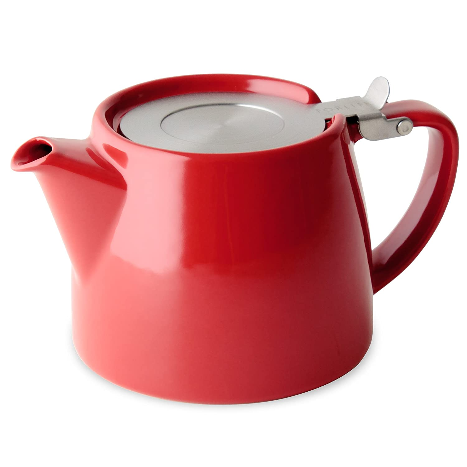 Forlife stump ounce teapot with sls lid and infuser