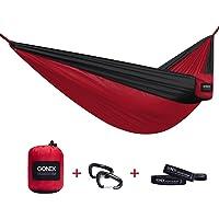 Gonex Ultralight Single Nylon Fabric Camping Hammock in Four Colors