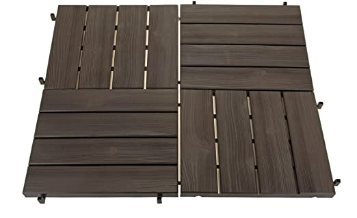 6 kunststofffliesen 39x39cm beetplatten gehwegplatten. Black Bedroom Furniture Sets. Home Design Ideas
