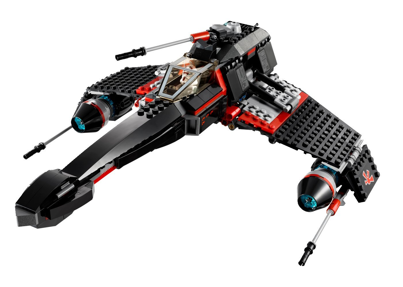 Lego Star Stealth Starfighter  dp BBIILX