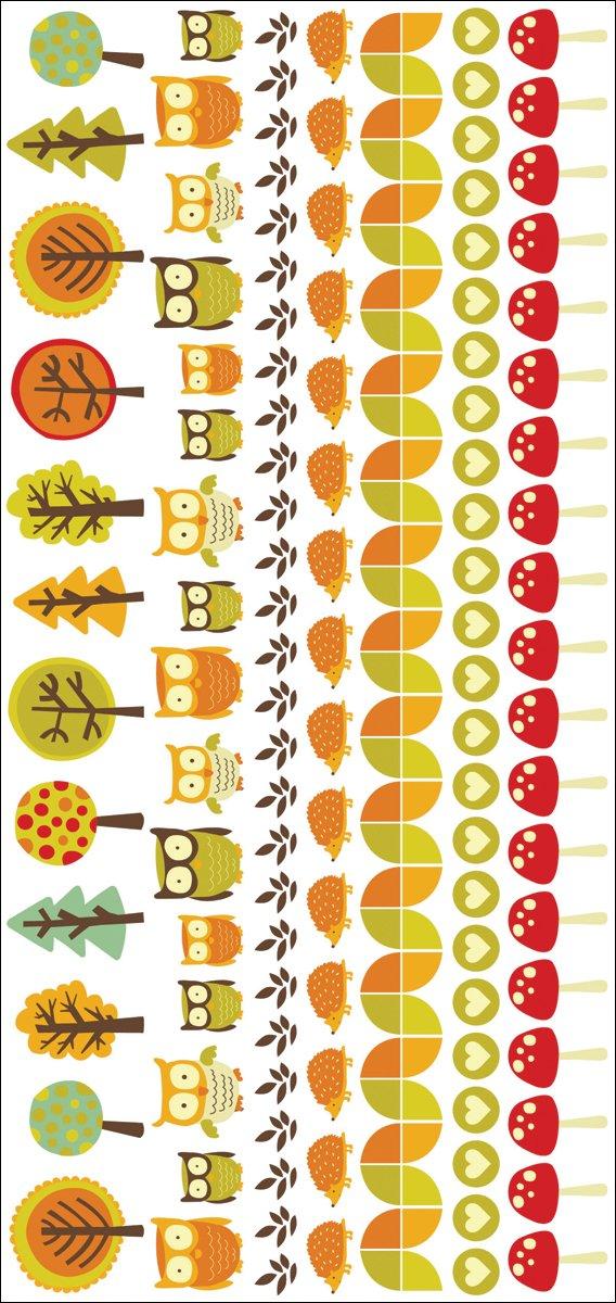 Piccoli boschi colore Rub-Ons 8,25 X 4-   Comentarios de clientes y más información