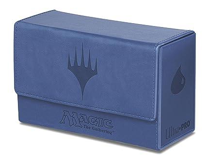 Ultra Pro - 330768 - Jeu De Cartes - Deckbox - Dual Flip Box - Bleu - C6