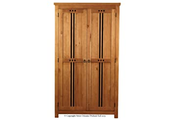 Sweet Dreams Curlew Wild Cherry 2 Door Wardrobe