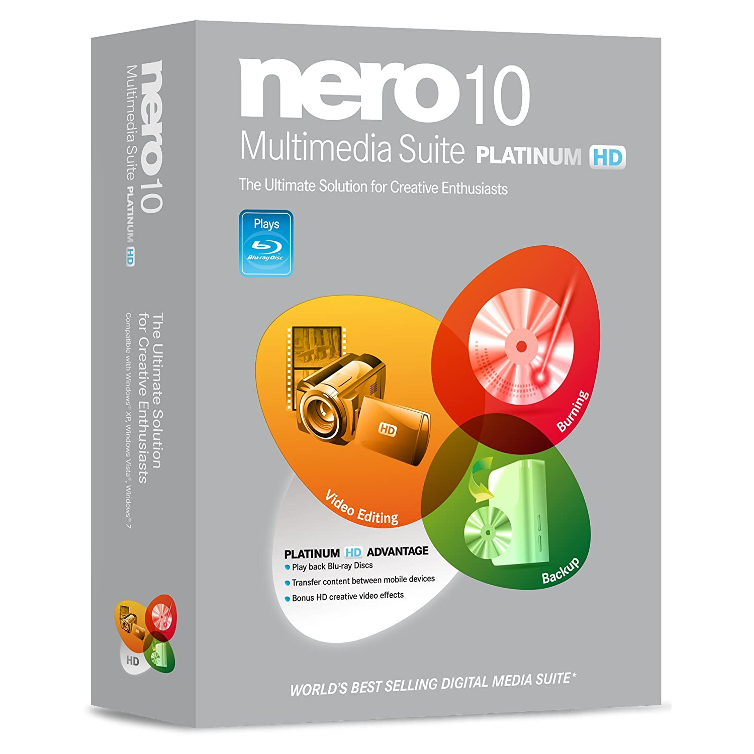 Nero Multimedia Suite 10 Platinum HD logo product