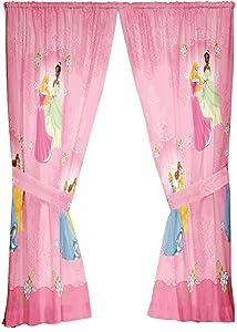 Disney Princesses Damask Dream 63-Inch Drape