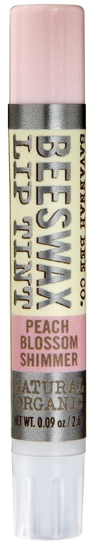 Savannah Bee Company Natural and Organic Peach Blossom Shimmer Lip Tint, 0.09-Ounce сандалии savannah savannah sa040awiez63