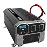 ENERGIZER 4000 Watt 12V Power Inverter, Dual 110V AC Outlets, Automotive Back Up Power Supply Car Inverter,Converts 120 Volt AC with 2 USB Ports 2.4A Each (Tamaño: 4000W)