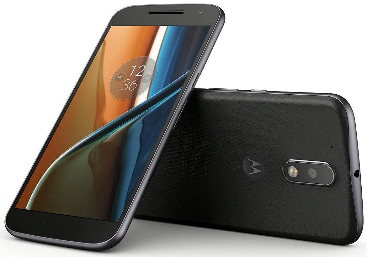 Moto G, 4th Gen (Black, 16GB)-Android 7.0 Nougat Update Available Now By Amazon @ Rs.10,499