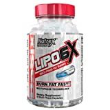 Nutrex Research Lipo 6X | Multiphase Liquid & Beadlet Rapid Thermogenic Fat Burner (60 Capsules) (Tamaño: 60 Capsules)