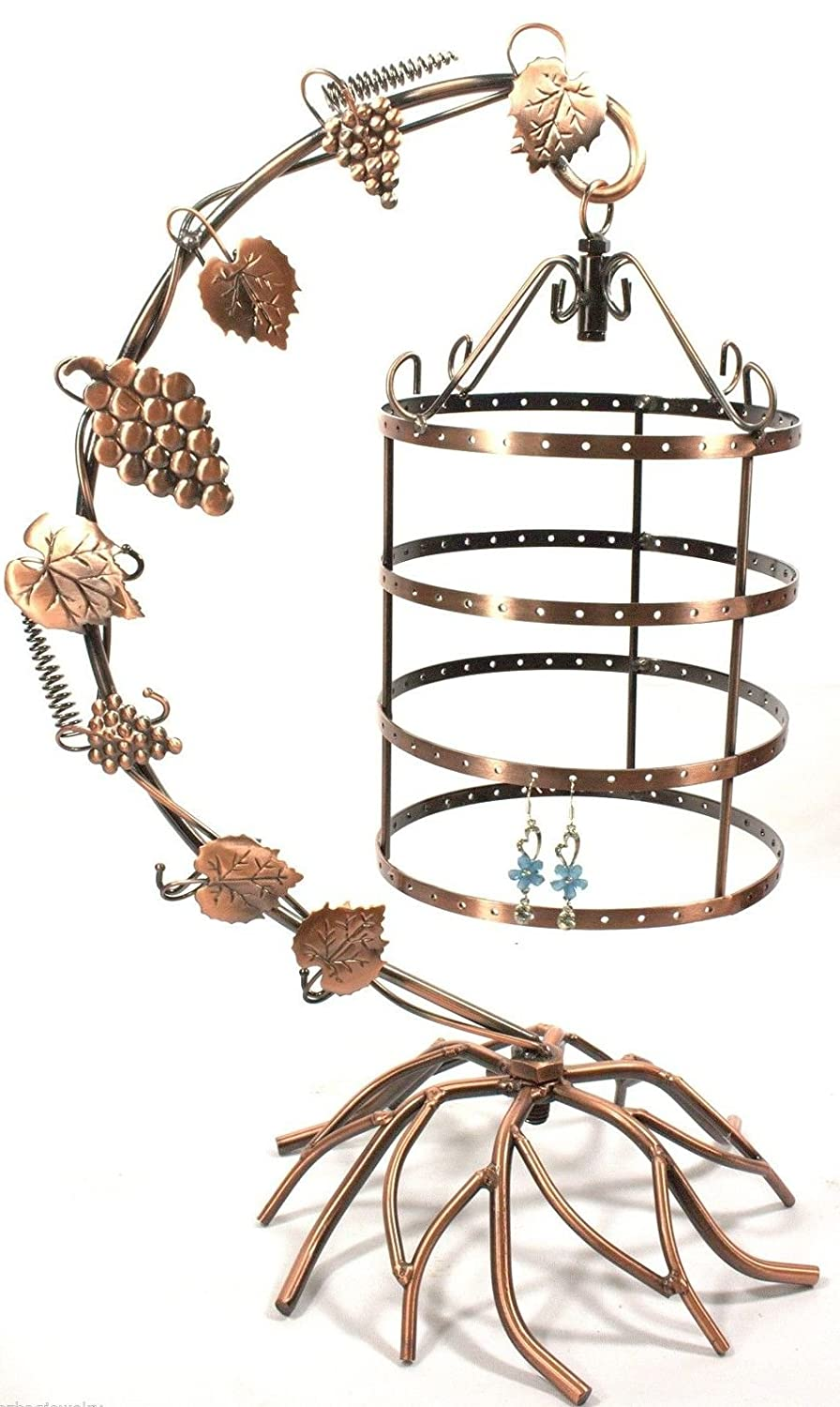 vintage tree jewelry holder stand display earring necklace. Black Bedroom Furniture Sets. Home Design Ideas