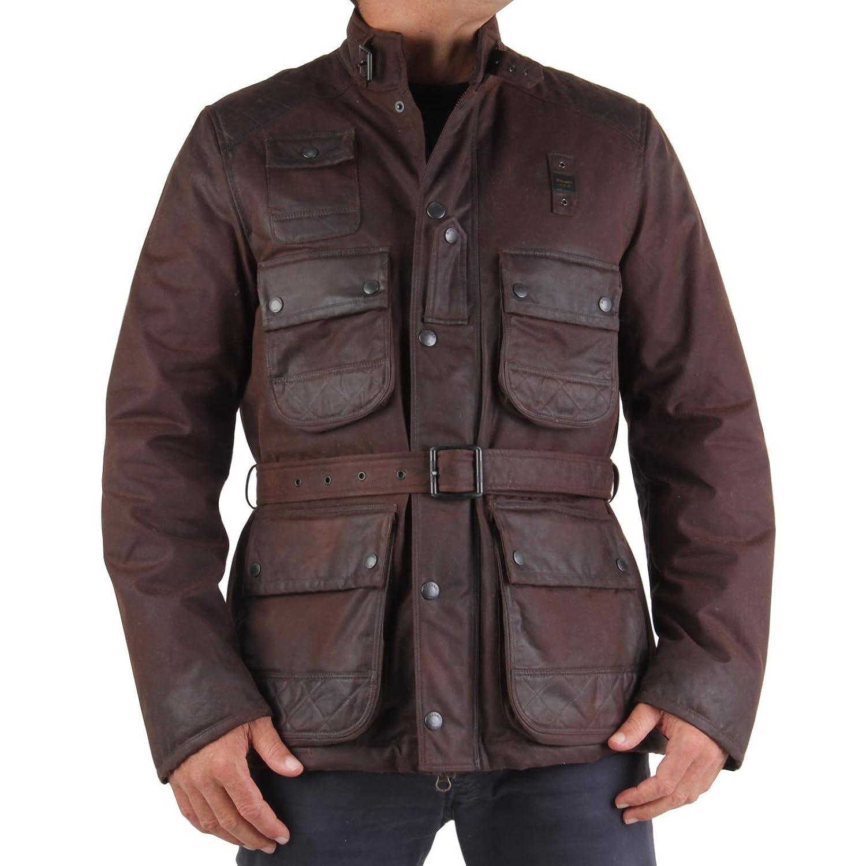 BLAUER USA Herren Winterjacke Vintage Brown 0945