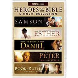 Heroes of the Bible 5-Movie Collection