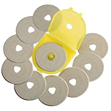 OLFA 9453 RB45-10 45mm Rotary Blade, 10-Pack